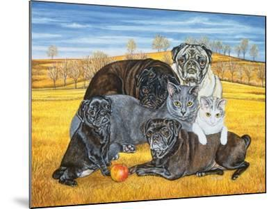 Hocking County Pug-Cats, 1995-Ditz-Mounted Giclee Print