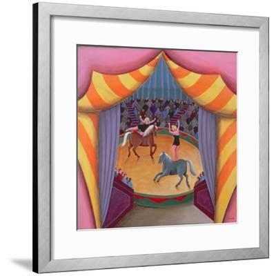 The Circus-Jerzy Marek-Framed Giclee Print