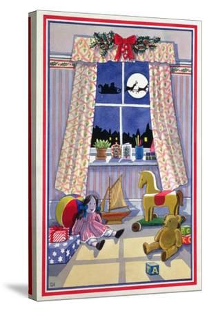 Midnight Visitor-Lavinia Hamer-Stretched Canvas Print
