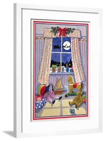 Midnight Visitor-Lavinia Hamer-Framed Giclee Print