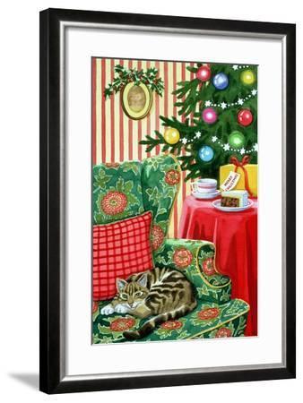 Christmas Tea-Lavinia Hamer-Framed Giclee Print