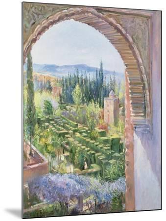 Alhambra Gardens-Timothy Easton-Mounted Giclee Print