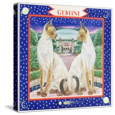 Gemini-Catherine Bradbury-Stretched Canvas Print