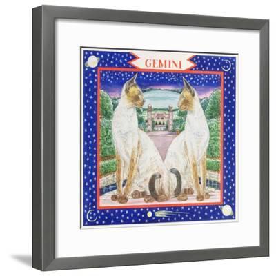 Gemini-Catherine Bradbury-Framed Giclee Print