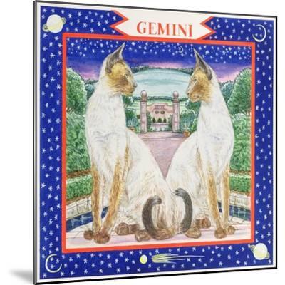 Gemini-Catherine Bradbury-Mounted Giclee Print