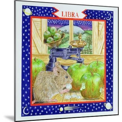 Libra-Catherine Bradbury-Mounted Giclee Print