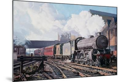A 'Thompson' B1 Class Moving Empty Stock on a Cold February Morning, 1998-David Nolan-Mounted Giclee Print