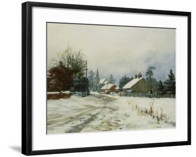 Higham, Winter '86-Vic Trevett-Framed Giclee Print