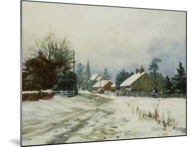 Higham, Winter '86-Vic Trevett-Mounted Giclee Print