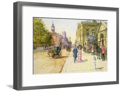 Horse Guards, Whitehall-John Sutton-Framed Giclee Print