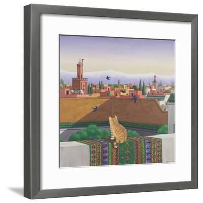 Rooftops in Marrakesh, 1989-Larry Smart-Framed Giclee Print