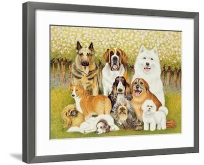 Dogs in May-Pat Scott-Framed Giclee Print