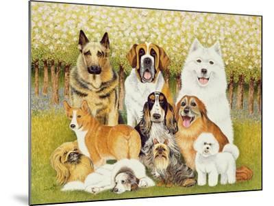 Dogs in May-Pat Scott-Mounted Giclee Print