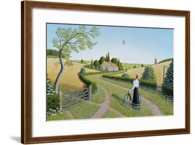 Summer Cycling, 1996-Peter Szumowski-Framed Giclee Print
