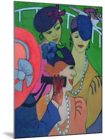 A Day at the Races-Jeanette Lassen-Mounted Giclee Print