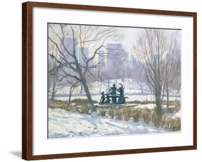 The Alice in Wonderland Statue, Central Park, New York, 1997-Julian Barrow-Framed Giclee Print