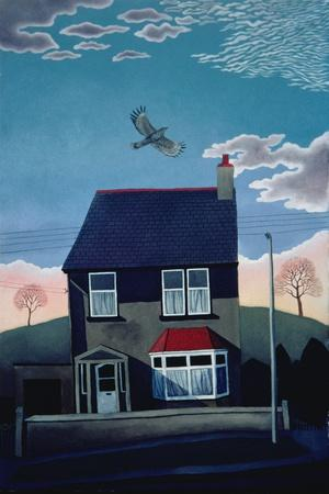 24 Lakeber Avenue, 1986-Lucy Raverat-Stretched Canvas Print