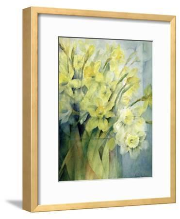 Daffodils, Uncle Remis and Ice Follies-Karen Armitage-Framed Giclee Print