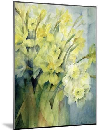 Daffodils, Uncle Remis and Ice Follies-Karen Armitage-Mounted Giclee Print