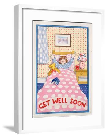 Get Well Soon-Lavinia Hamer-Framed Giclee Print