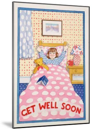 Get Well Soon-Lavinia Hamer-Mounted Giclee Print