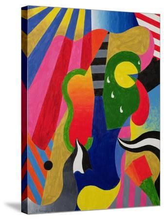 Concert, 1989-William Ramsay-Stretched Canvas Print