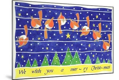 We Wish You a Merry Christmas-Cathy Baxter-Mounted Giclee Print