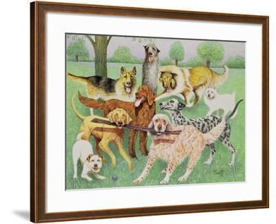 Catch and Carry-Pat Scott-Framed Giclee Print