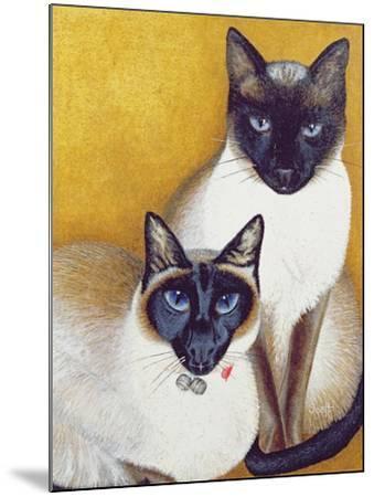 Mavis and Barnaby-Pat Scott-Mounted Giclee Print