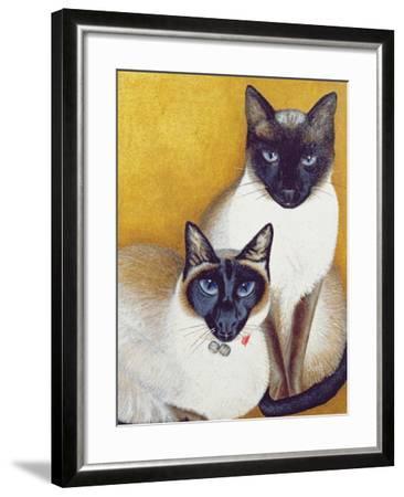 Mavis and Barnaby-Pat Scott-Framed Giclee Print