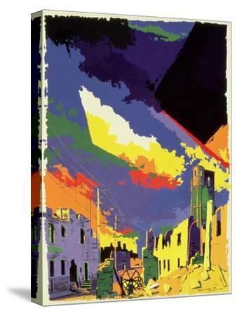 Oradour-sur-Glane, 1985-Derek Crow-Stretched Canvas Print