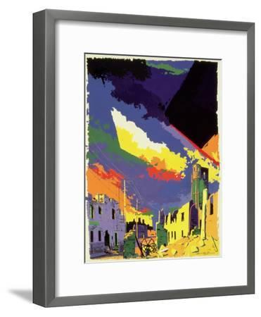 Oradour-sur-Glane, 1985-Derek Crow-Framed Giclee Print
