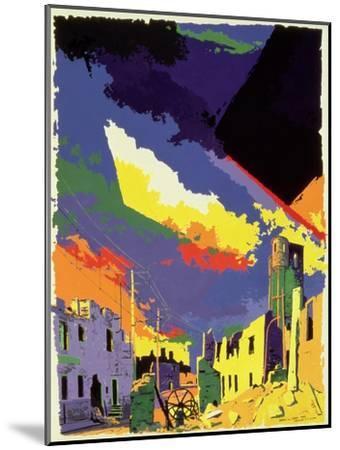Oradour-sur-Glane, 1985-Derek Crow-Mounted Giclee Print