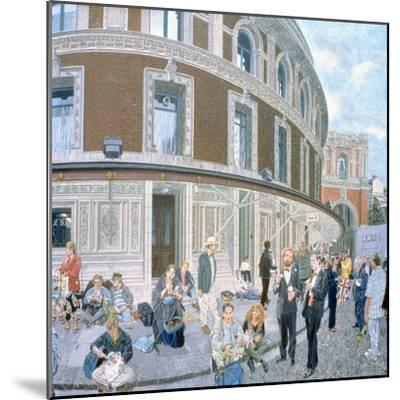 Promenaders at the Last Night, Royal Albert Hall, Detail-Huw S. Parsons-Mounted Giclee Print