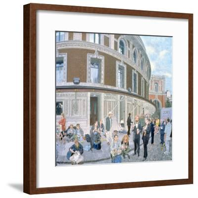 Promenaders at the Last Night, Royal Albert Hall, Detail-Huw S. Parsons-Framed Giclee Print