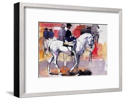 Side-Saddle at the Feria De Sevilla, 1998-Mark Adlington-Framed Giclee Print