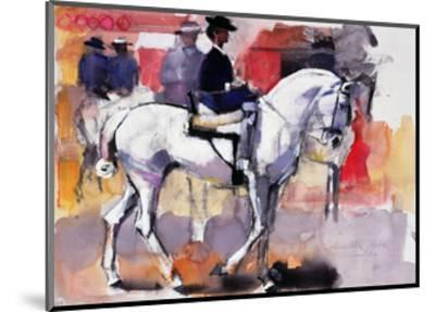 Side-Saddle at the Feria De Sevilla, 1998-Mark Adlington-Mounted Giclee Print