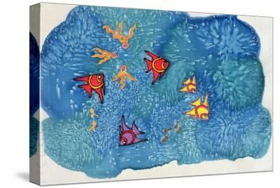 Fish, 1999-Alexandra Cowan-Stretched Canvas Print