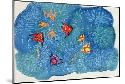 Fish, 1999-Alexandra Cowan-Mounted Giclee Print