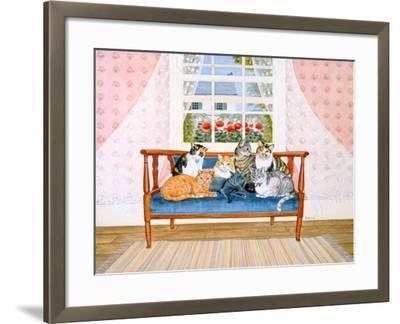 Biedermeier-Cats-Ditz-Framed Giclee Print