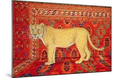 The Carpet-Mouse-Ditz-Mounted Giclee Print