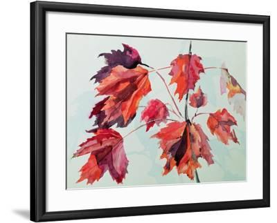 No.24 Autumn Maple Leaves-Izabella Godlewska de Aranda-Framed Giclee Print