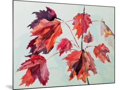 No.24 Autumn Maple Leaves-Izabella Godlewska de Aranda-Mounted Giclee Print