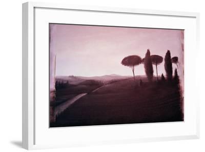 Tuscan Landscape, 1992-Lincoln Seligman-Framed Giclee Print