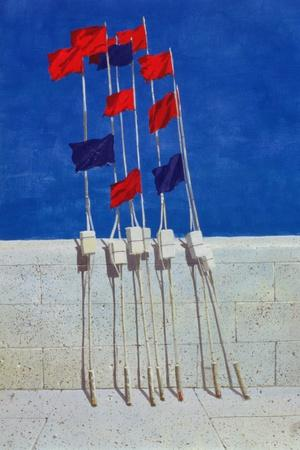 Lobster Buoys, 1990s-Lincoln Seligman-Giclee Print