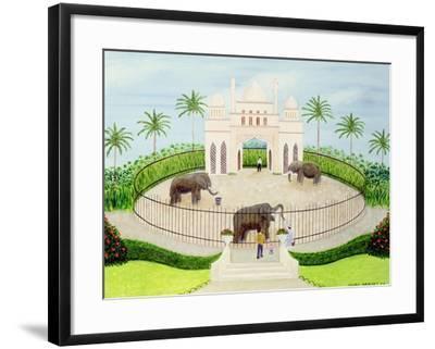 The Elephant House, 1984-Mark Baring-Framed Giclee Print