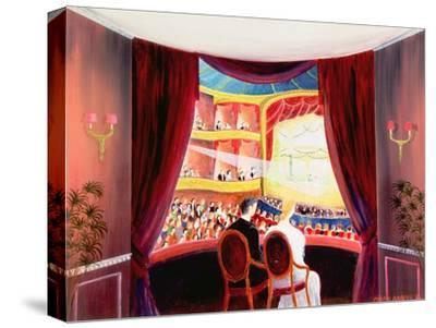 Night at the Ballet, 1984-Mark Baring-Stretched Canvas Print