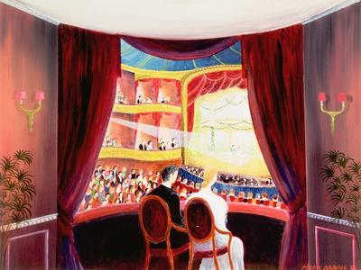 Night at the Ballet, 1984-Mark Baring-Premium Giclee Print