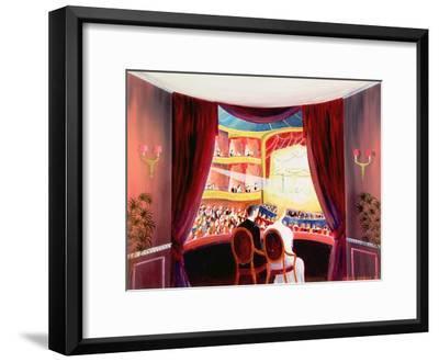 Night at the Ballet, 1984-Mark Baring-Framed Giclee Print