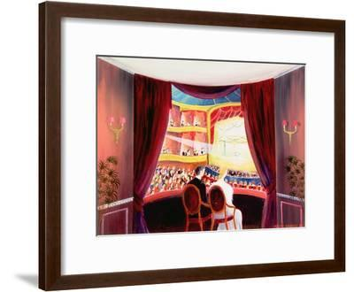 Night at the Ballet, 1984-Mark Baring-Framed Giclee Print
